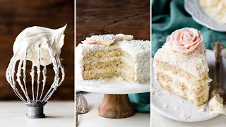 Fluffy & Moist Coconut Cake | Sallys Baking Addiction