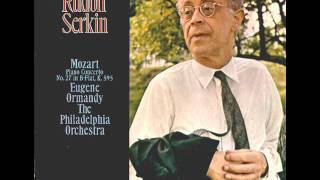 Mozart-Piano Concerto No.  27 in B flat Major KV 595 (Complete)
