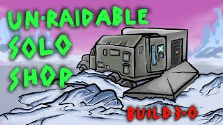 RUST un-raidable solo base - Rust Truck Shop base - Rust 3.0