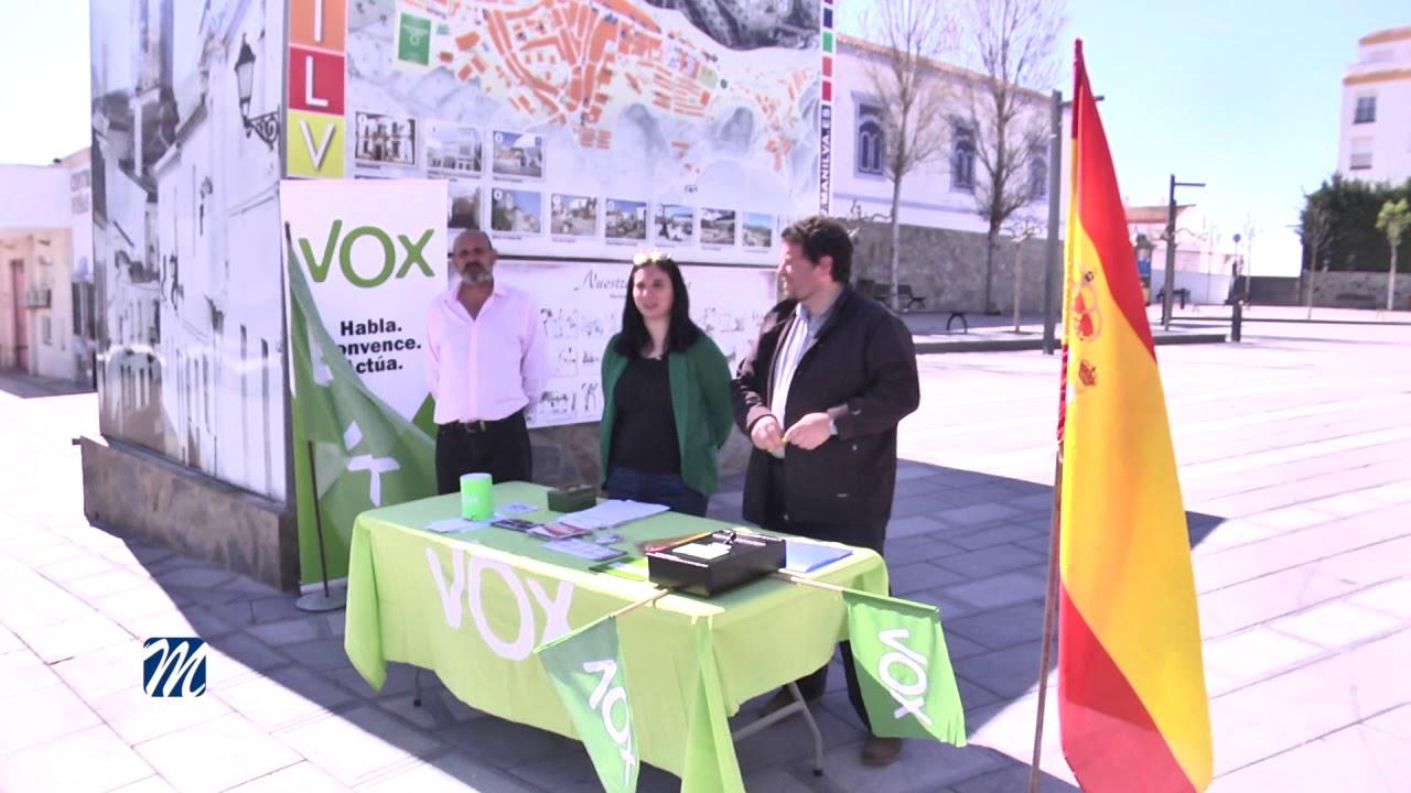 CANDIDATURA VOX MUNICIPALES 2019