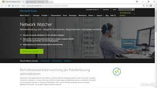 Azure Network Watcher einsetzen