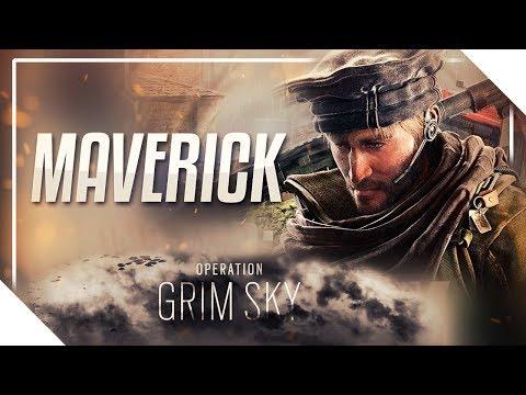 MAVERICK | Aparência, Ícone, Gadget e História + Novidades VAZADAS!! - Rainbow Six: Siege Grim Sky