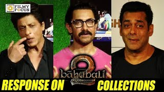 Baahubali 2 Movie Collections | Reactions of Aamir Khan, Salman Khan, ShahRukh Khan - Filmyfocus.com