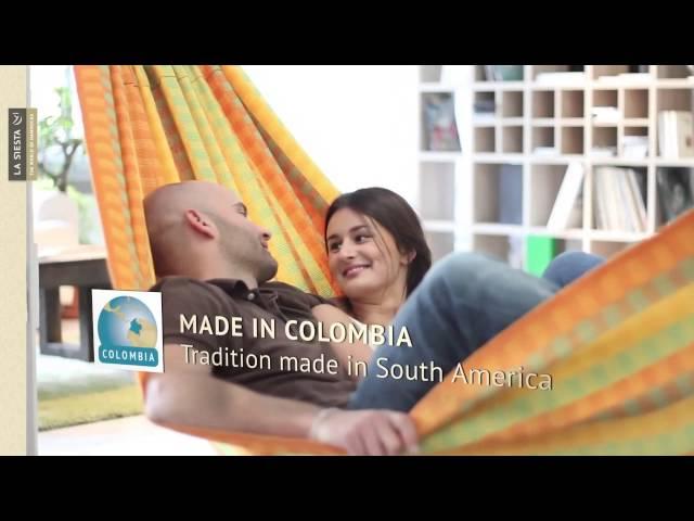 Видео Гамак La Siesta Carolina двухместный spring