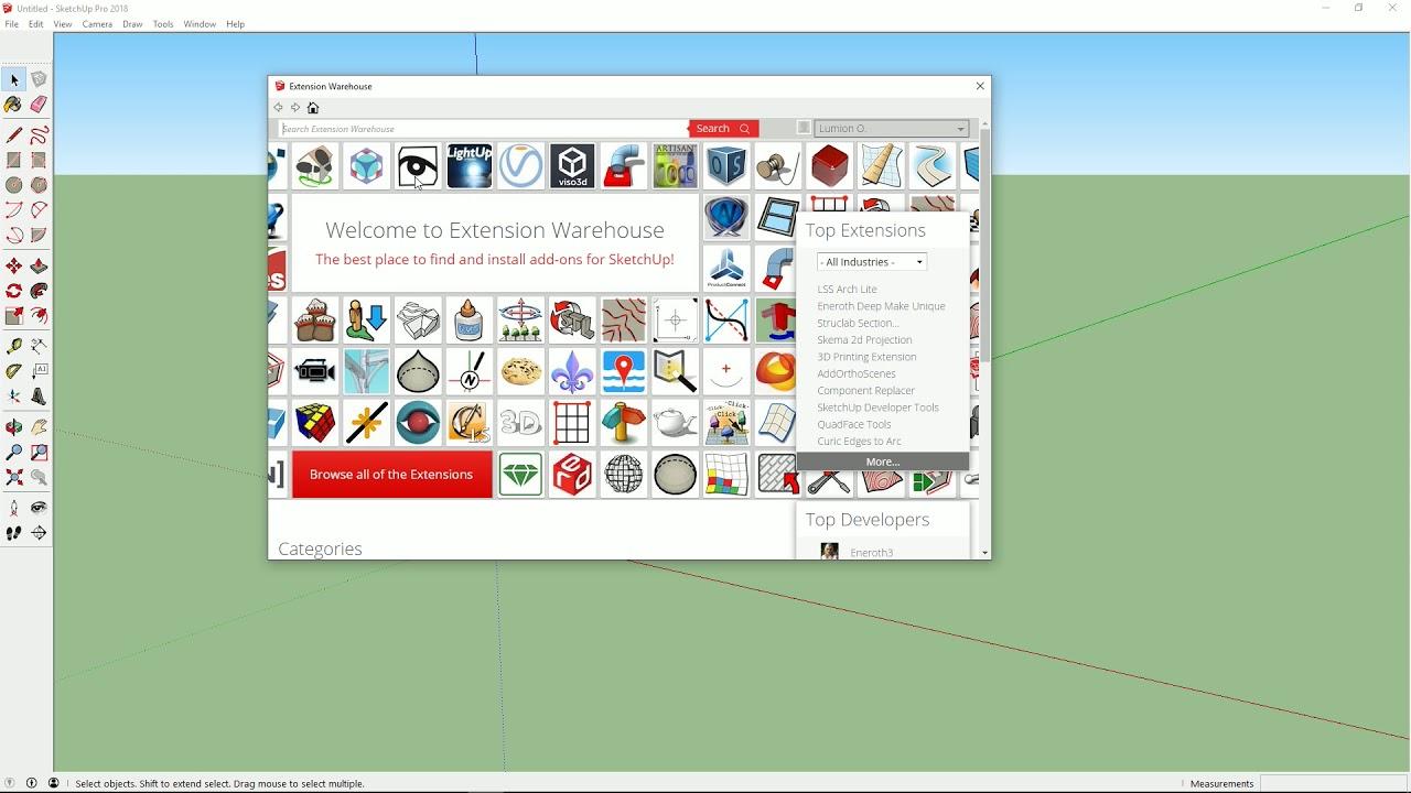 インポート:LiveSync SketchUpのプラグインインストール(Lumion8 series)