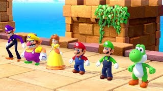 Super Mario Party - All Wacky Minigames