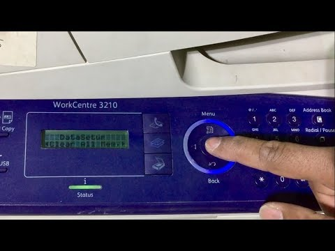 factory reset Xerox WorkCentre 3210, 3325 - Corona Technical