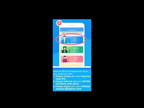 CARA DAFTAR BPJSTKU|Daftar Aplikasi BPJSTK di Handphone|Aplikasi BPJS Tenaga Kerja