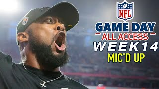 """NFL Week 14 Mic'd Up, """"Sitting in my hotel room I wanted to draft your a**!"""" 