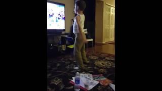 Brady dancing nae nae