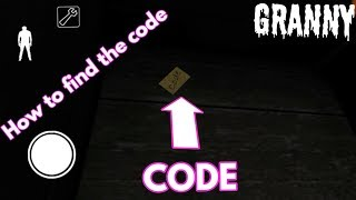How to find the code ( Granny version 1.5 )