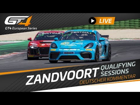QUALIFYING - ZANDVOORT - GT4 EUROPEAN SERIES 2019 GERMAN