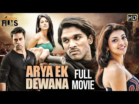 Download Allu Arjun Arya Ek Deewana (आर्य एक दीवाना) Hindi Dubbed Action Movie | Kajal Aggarwal | Navdeep Mp4 HD Video and MP3