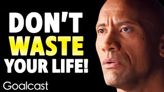 I Was Broke, Depressed And Lost: Dwayne The Rock Johnsons Tale Of Survival | Goalcast Speech