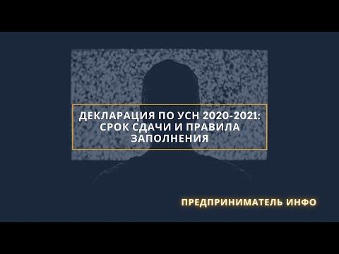 Декларация по УСН 2020-2021: срок сдачи и правила заполнения + бланк и образец заполнения / HD-1080p