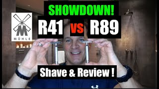 Mühle R41 vs R89 Razor Shave and Review