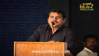 Director Ezhil at Pappali Movie Audio Launch