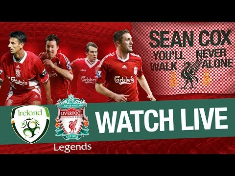 size 40 37ee2 83679 Liverpool Legends 2-1 Ireland Legends - Highlights as John ...