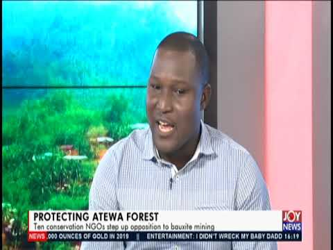 Protecting Atewa Forest - The Pulse on JoyNews (17-6-19)