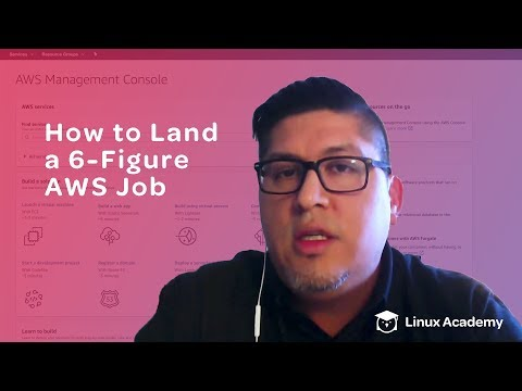 How to Get a 6-Figure Job Working with AWS   Linux Academy ...