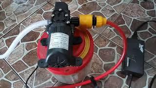 Paket A Lengkap Pompa Air High Pressure Cuci AC atau Cuci Motor Mobil