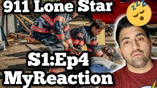 """911 Lone Star Season 1 Episode 4 """"Act of God"""" 