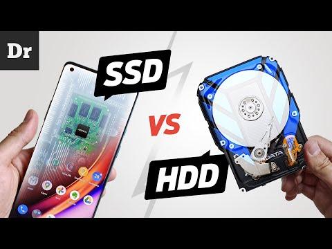 SSD vs HDD: Как это работает?