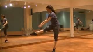 玲実先生のダンスレッスン〜ダンスの基本〜手の使い方・タンデュのサムネイル