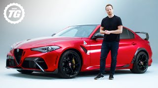 FIRST LOOK | Alfa Romeo Giulia GTA: Italy's Hardcore 532bhp Super-saloon | Top Gear