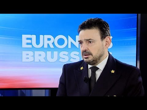 Euronews spoke to Admiral Fabio Agostini, head of the EU mission to enforce the Libyan arms embargo in the Mediterranean Sea
