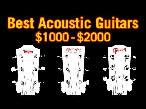 Best Acoustic Guitars: $1000-$2000