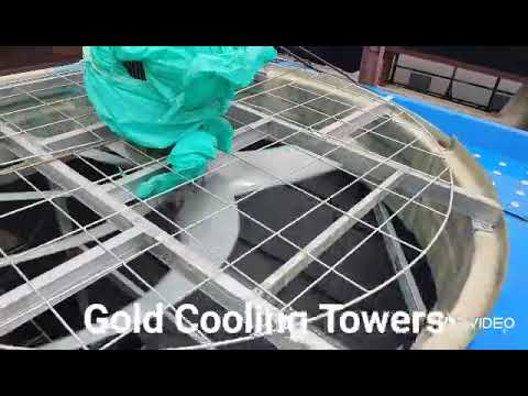 Wooden Cooling Tower For Plywood Hot Press Machine