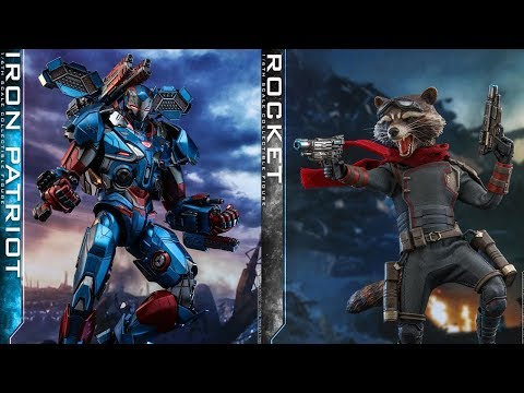 Hot Toys Iron Patriot Preview