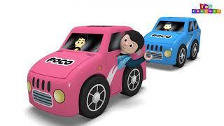 The Pig Train Toy Factory Cartoon Cartoon - Choo Choo Cartoon Trains