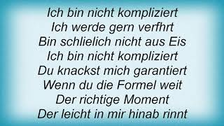 Annett Louisan - Die Formel Lyrics