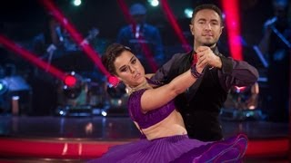 Dani Harmer & Vincent Simone Tango to 'Rumour Has It' - Strictly Come Dancing 2012 - BBC One