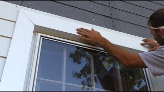 How to Trim Out a Window with Fiber Cement Siding and Insulation