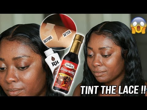 CLIENT SERIES: TINT & MELT lace front wig TUTORIAL for DARK Skin girls ft divaswigs
