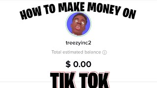 HOW TO MAKE MONEY FROM TIK TOK!! (JOIN THE CREATOR FUND)!!