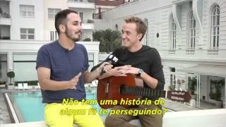Том Фелтон, Acesso MTV: Entrevista com Tom Felton no Copacabana Palace [Legendado]