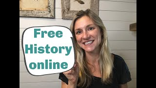 Elementary Social Studies Curriculum/FREE HISTORY FOR ALL AGES.