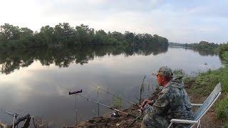 Река рыбалка весной на реке фидер