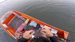 Ловля судака + подводная съёмка