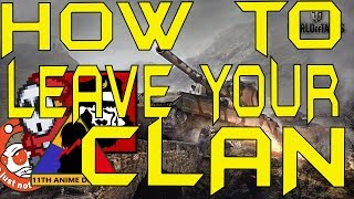 How to leave your clan in World of Tanks