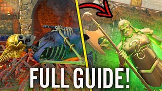 IX VIKING EASTER EGG GUIDE! (Full Black Ops 4 Zombies IX Viking Boat Easter Egg)
