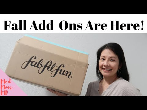 FabFitFun Fall 2020 Add-Ons | Not Sponsored! | What's In My Cart? | Tips For The Sale | modmom md