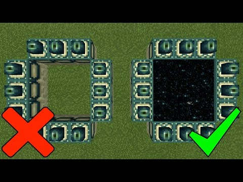 How To Make an End Portal in Minecraft Pocket Edition