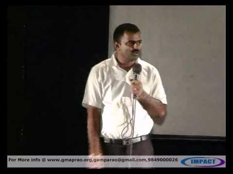 Life Story|Sridhar|TELUGU IMPACT Hyd 2012