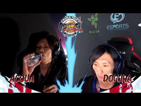 Dragon Ball FighterZ World Tour Saga 5 – Acqua vs. CAG | Dogura – SEAM 2018  – Top 8 Loser's
