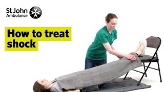How To Treat Shock - First Aid Training - St John Ambulance
